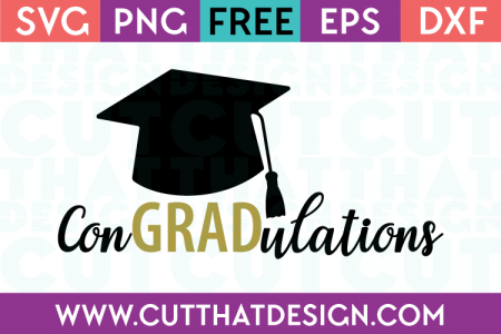 Cut That Design Graduation Free SVG Cutting File