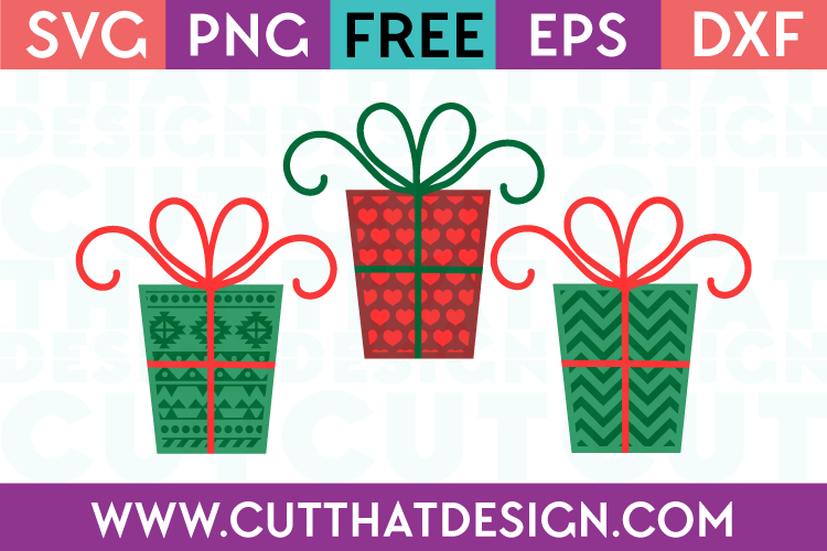 free christmas svg cutting file