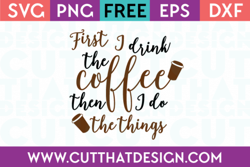free coffee cup svg