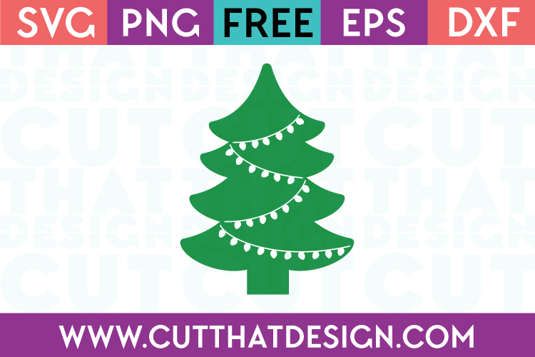 christmas tree svg free