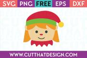 Elf Girl SVG Cutting File