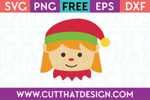 Elf Girl SVG Cutting File