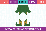 Elf Legs SVG Chevron Pattern