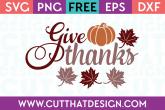 Fall SVG Cutting Files