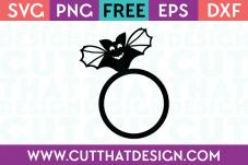 Free Halloween Bat SVG
