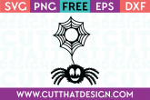 Fury Spider and Monogram Web SVG Cutting File
