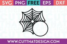 Spider Web SVG Free