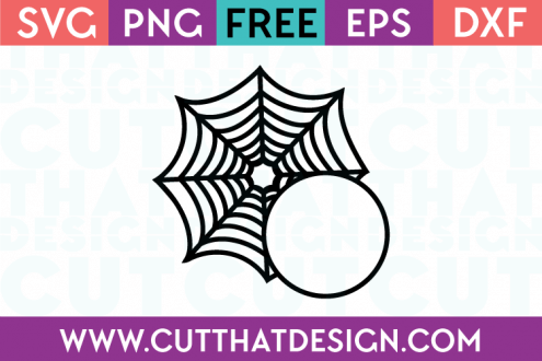 Spider Web SVG Free