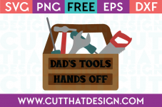 Dads Toolbox SVG Cutting File