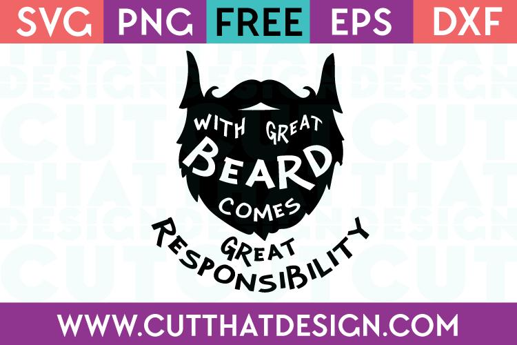 Beard SVG Free