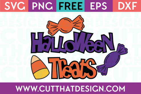 Halloween Treats SVG