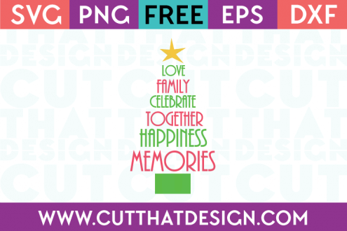 Christmas Tree Free Cutting SVG File