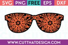 Sunglasses SVG File