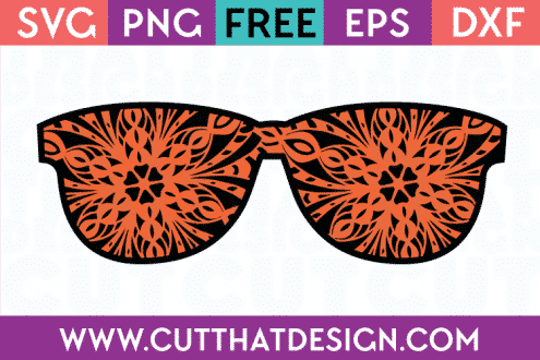 Sunglasses SVG File