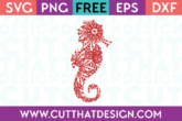 Seahorse SVG Cutting File