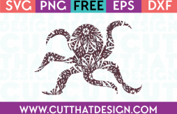 Ocotopus SVG Cutting File
