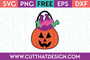 Free Jack O Lantern SVG Cutting File