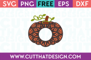 Free Mandala Pumpkin SVG Cutting File