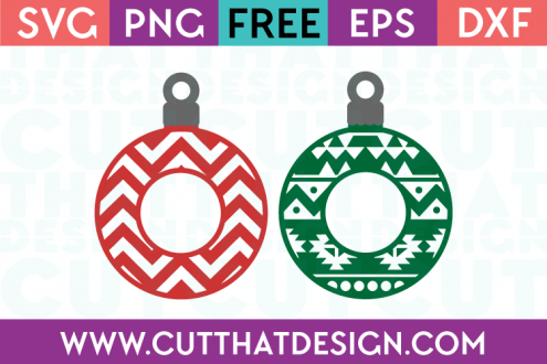 Free Christmas Decoration SVG Cutting File
