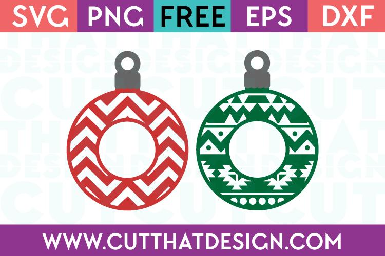 Free Christmas Decoration SVG Cutting File