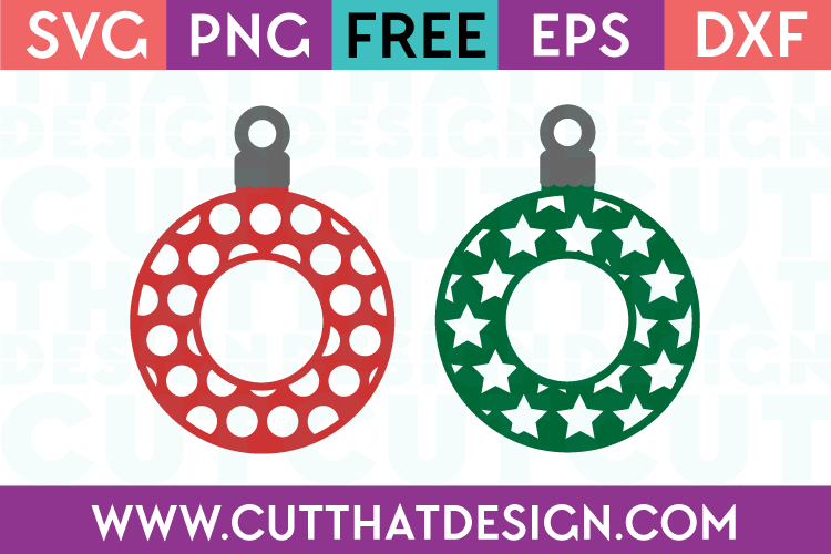 Christmas Decoration Monogram Designs Set 3