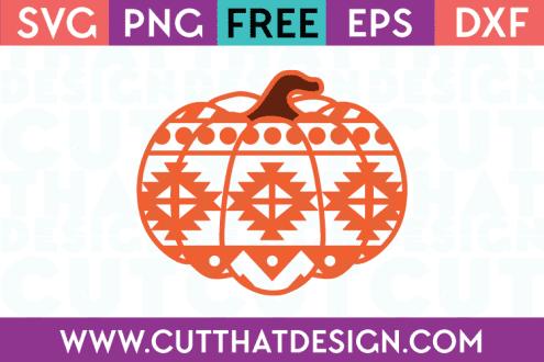 Free Aztec Pumpkin SVG
