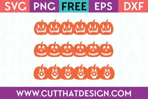 Free SVG Cuts Jack o Lantern