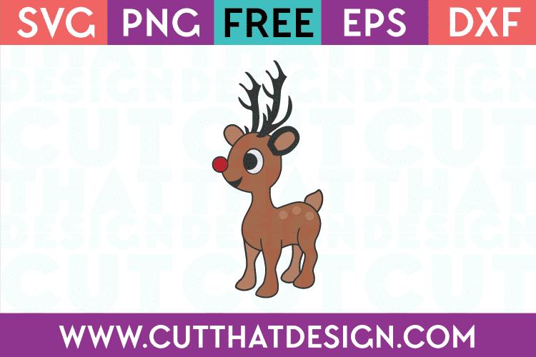 Free Reindeer Cute SVG