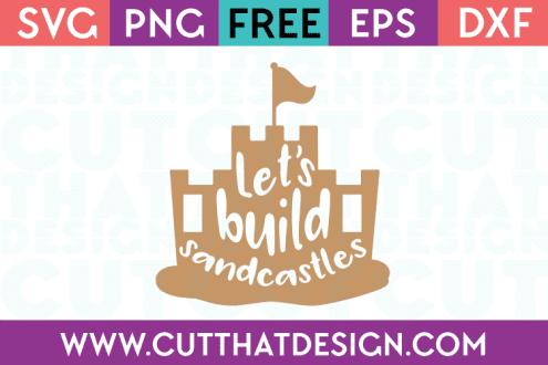 Sandcastle SVG Free