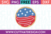 Free SVG Files Donut Design