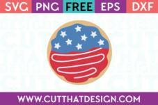 Free SVG Cutting File Donut