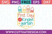 Kindergarten SVG