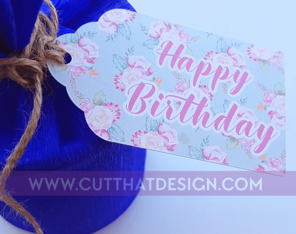 Gift tags ideas for silhouette cameo