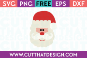 SVG Santa Claus Free Download
