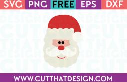 SVG Santa Claus Free Download