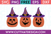 Jack O Lanterns SVG Cuts Free Download