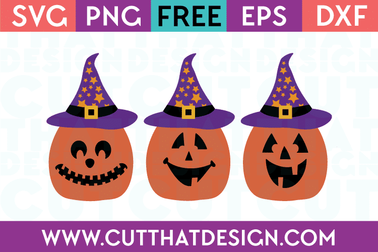 Jack O Lanterns SVG Cuts Free Download
