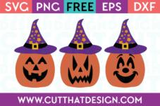 Halloween Free SVG Jack O Lantern
