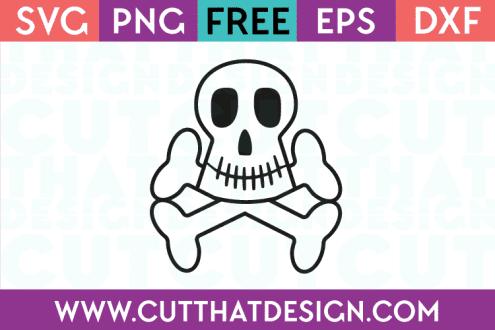 Free SVG Files Skull and Crossbones