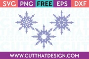 Free SVG Files Snowflake Designs