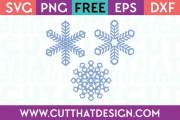 Free SVG Files Snowflakes