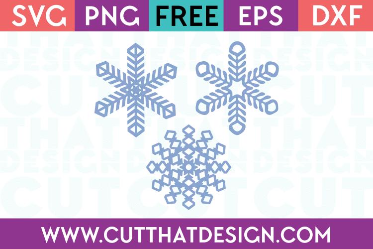 Free SVG Files Snowflakes