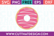 Donut SVG Cutting File Free