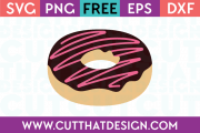 Free Donut Cut File