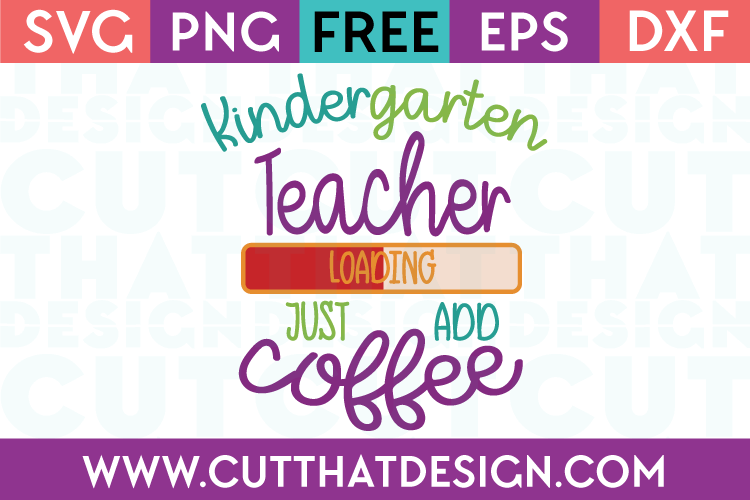 Kindergarten SVG Cutting Files Free