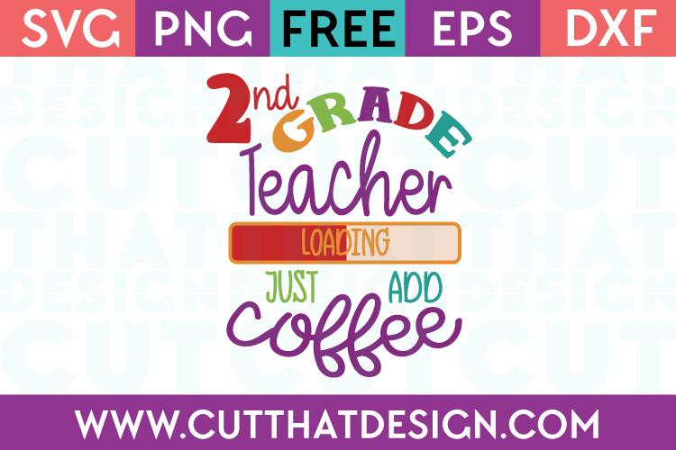 2nd Grade Free SVG Cutting Files