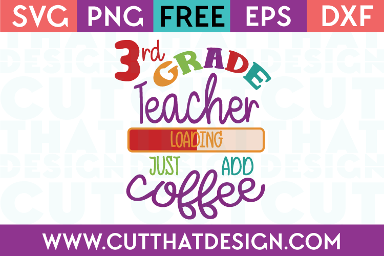 3rd Grade Free SVG Cutting Files