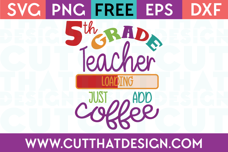 5th Grade Free SVG Cuts