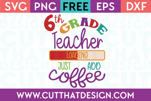 Free 6th Grade SVG Cut Files