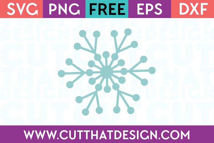 Snowflake Free SVG Cut File